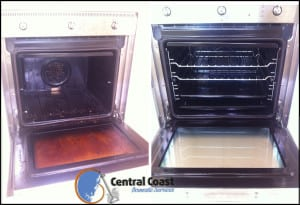 Oven Before & After