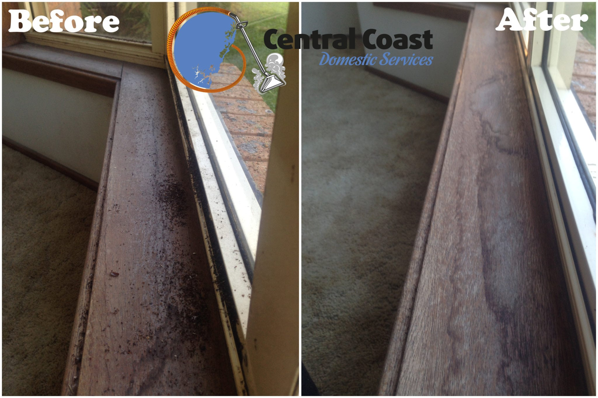 Window Tracks Cleaning